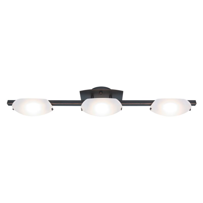 "Access Lighting 63960 Nido 3 Light 32"" Wide Vanity Light with Frosted"