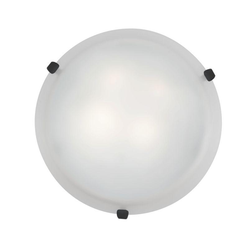 Access Lighting 23019-RU/WH Rust Contemporary Mona Ceiling Light
