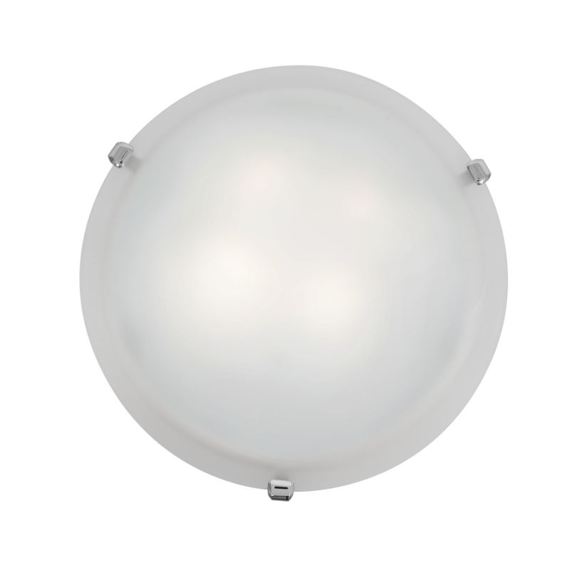 Access Lighting 23019GU-CH/WH Chrome Contemporary Mona Ceiling Light