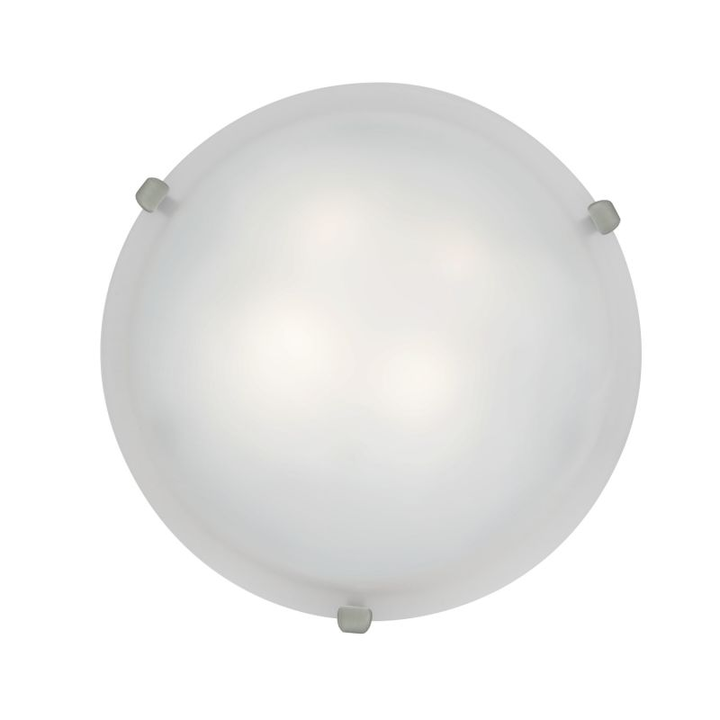 Access Lighting 23020-BS/WH Steel Contemporary Mona Ceiling Light