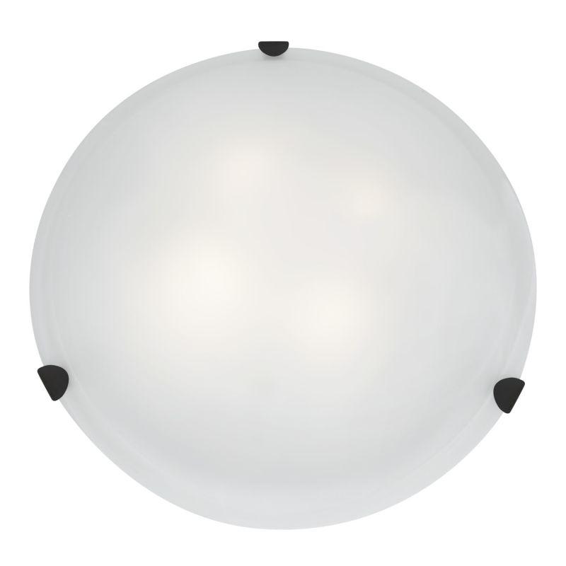 Access Lighting 23021GU-RU/WH Rust Contemporary Mona Ceiling Light