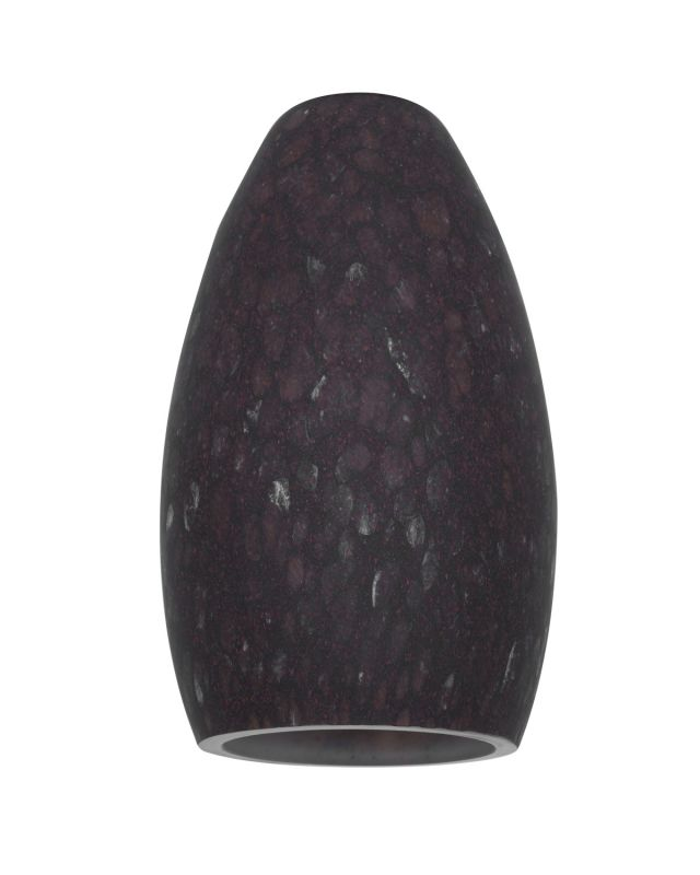 Access Lighting 23112 Inari Silk Glass Shade Brown Stone Accessory
