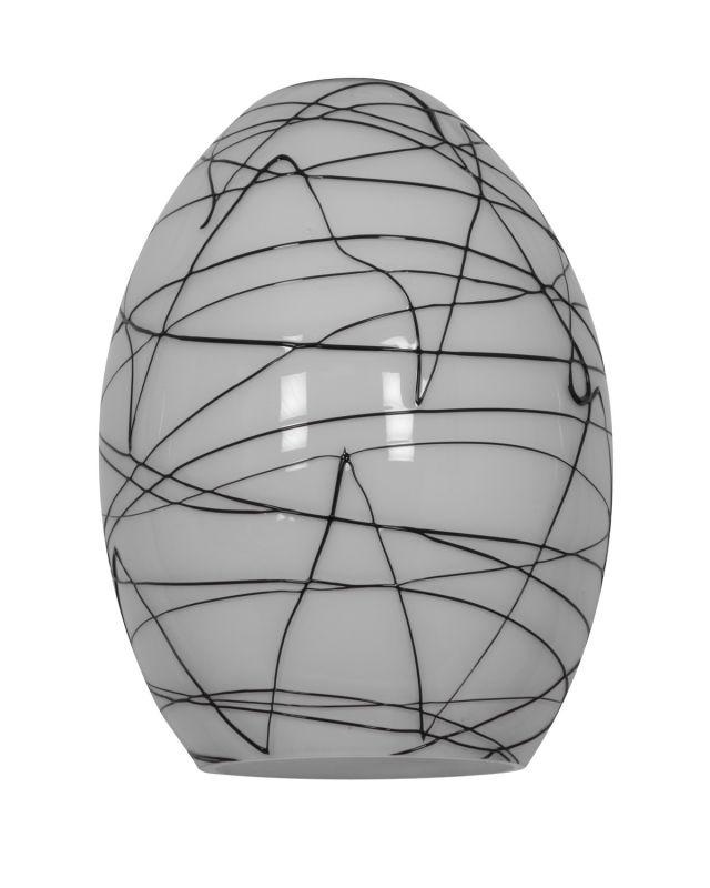 Access Lighting 23123 FireBird Ostrich Glass Shade Black White Sale $44.80 ITEM: bci2255253 ID#:23123-BLWH UPC: 641594160307 :