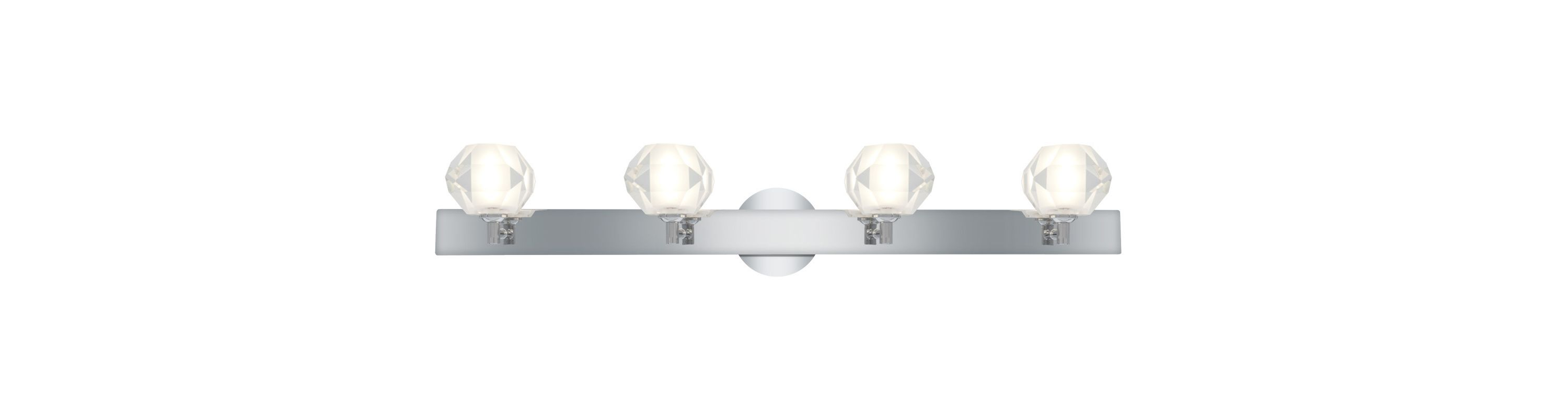 "Access Lighting 23912 Glasíe 4 Light 34"" Wide Vanity Light with Clear"