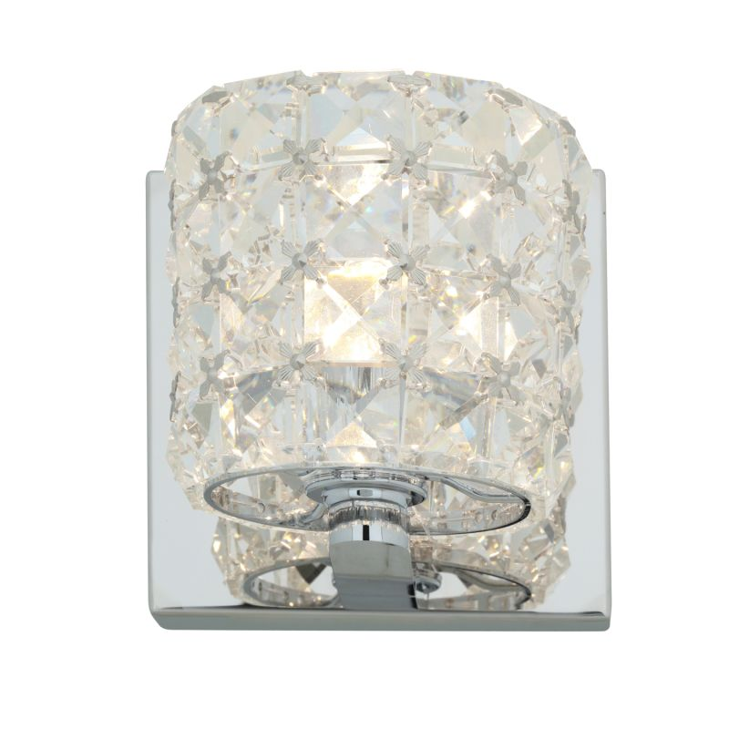 """Access Lighting 23920 Prizm 1 Light 5"""" Wide Bathroom Sconce with Clear"""