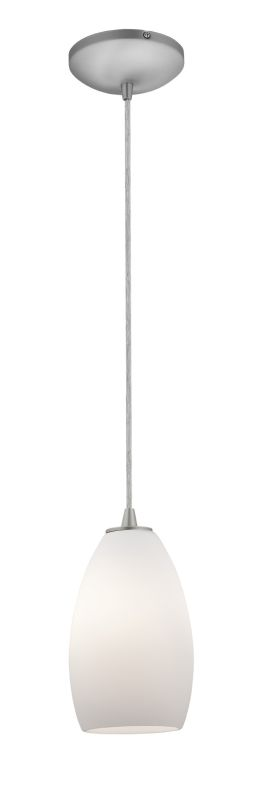Access Lighting 28012-2C-BS/OPL Steel Contemporary Tali Pendant