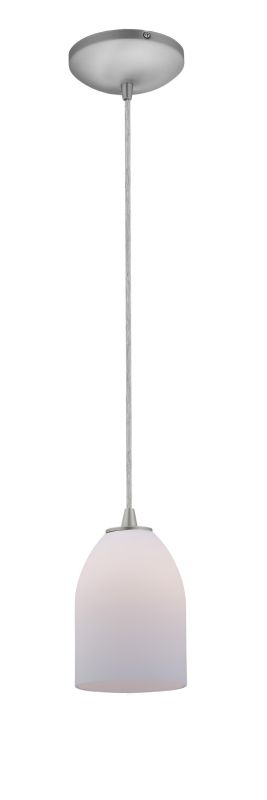 Access Lighting 28018-2C-BS/OPL Steel Contemporary Tali Pendant Sale $68.80 ITEM: bci2255434 ID#:28018-2C-BS/OPL UPC: 641594164732 :