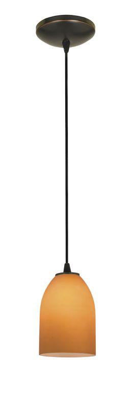 Access Lighting 28018-2C-ORB/AMB Bronze Contemporary Tali Pendant