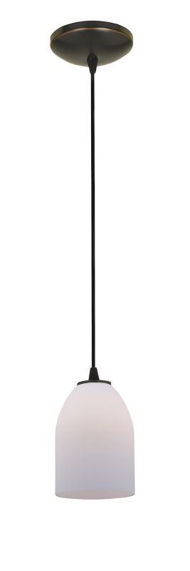 Access Lighting 28018-2C-ORB/OPL Bronze Contemporary Tali Pendant