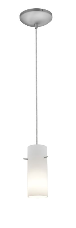 Access Lighting 28030-2C-BS/OPL Steel Contemporary Tali Pendant