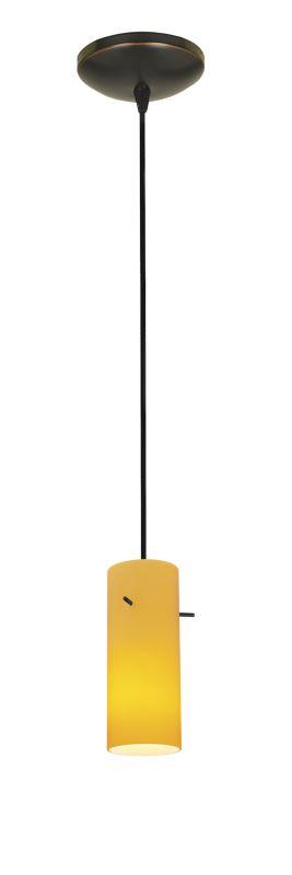Access Lighting 28030-2C-ORB/AMB Bronze Contemporary Tali Pendant