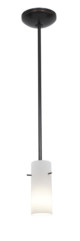 Access Lighting 28030-2R Julia 1 Light Mini Pendant Oil Rubbed Bronze