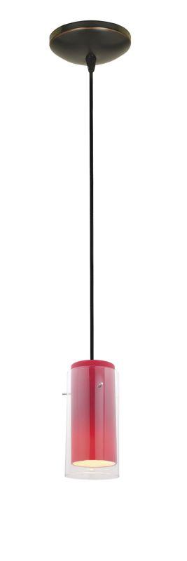 Access Lighting 28033-2C Tali 1 Light Mini Pendant Oil Rubbed Bronze /