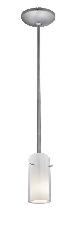 Access Lighting 28033-2R-BS/CLOP Steel Contemporary Julia Pendant