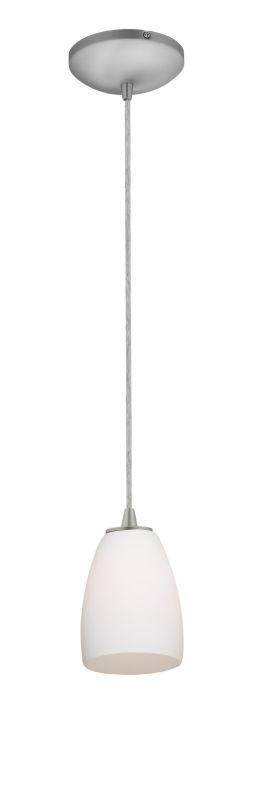 Access Lighting 28069-1C-BS/OPL Steel Contemporary Sydney Pendant