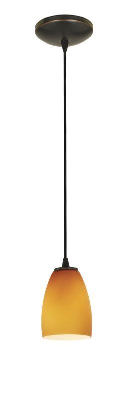 Access Lighting 28069-2C-ORB/AMB Bronze Contemporary Tali Pendant
