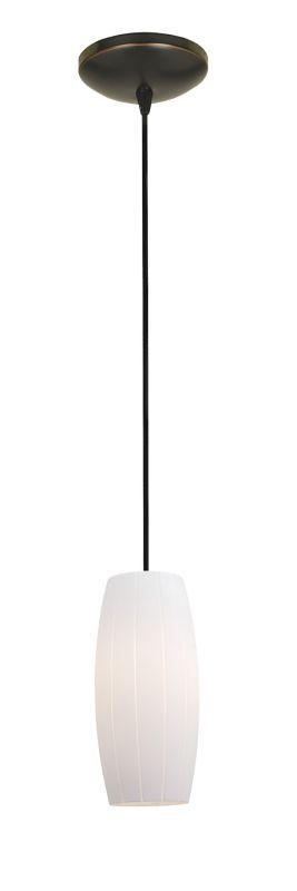Access Lighting 28070-2C-ORB/WHT Bronze Contemporary Tali Pendant