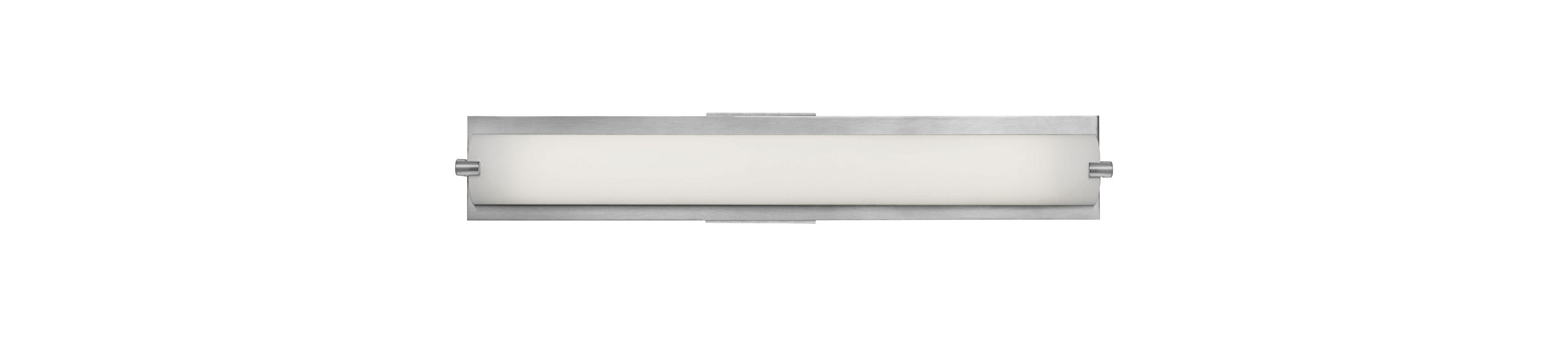 Access Lighting 31010-BS/OPL Steel Contemporary Geneva Bathroom Light