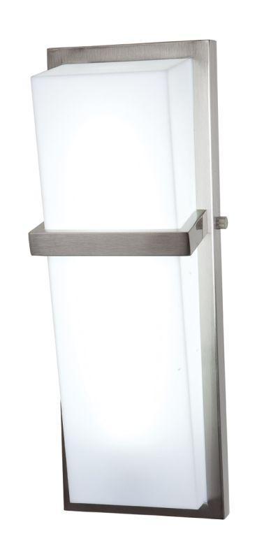 Access Lighting 31025 Sierra 1 Light Bathroom Sconce Brushed Steel /