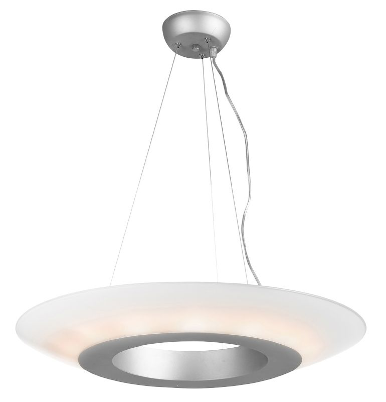 Access Lighting 50129 Nebula 14 Light Pendant Satin / Opal Indoor