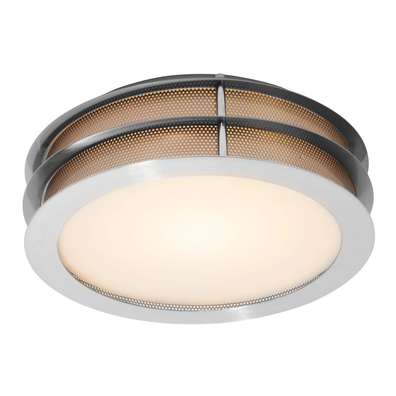 Access Lighting 50130-LED Iron 1 Light LED Flush Mount Ceiling Fixture