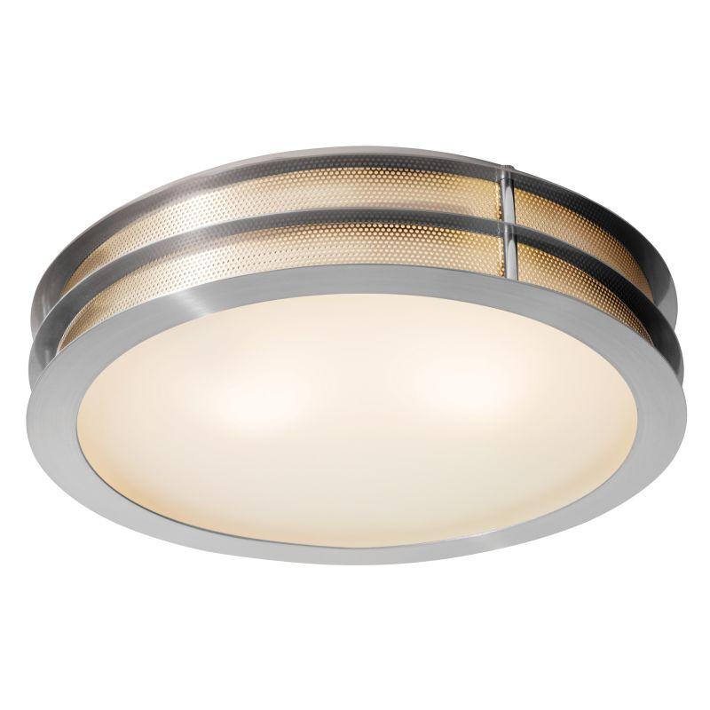Access Lighting 50131-LED Iron 1 Light LED Flush Mount Ceiling Fixture