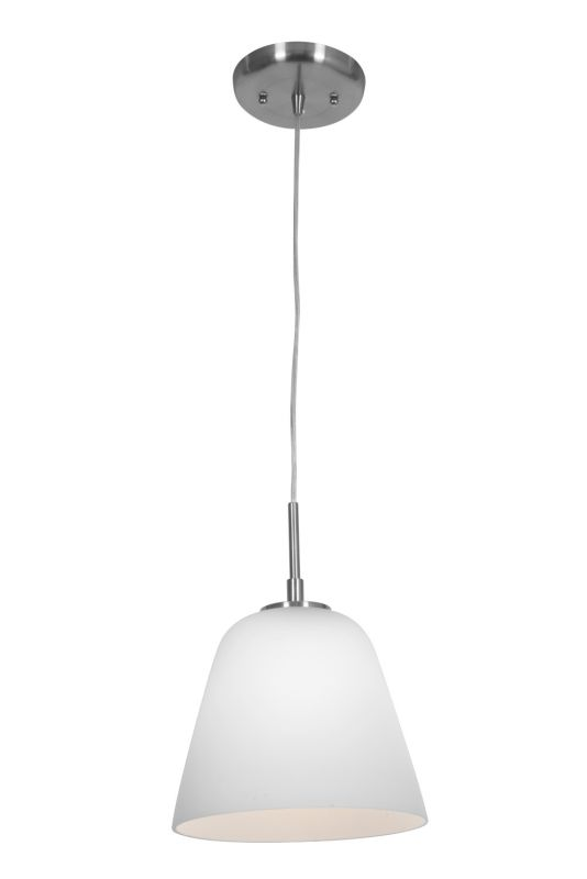 Access Lighting 50169 Aire 1 Light Mini Pendant Brushed Steel / Opal Sale $60.80 ITEM: bci2255751 ID#:50169-BS/OPL UPC: 641594159301 :