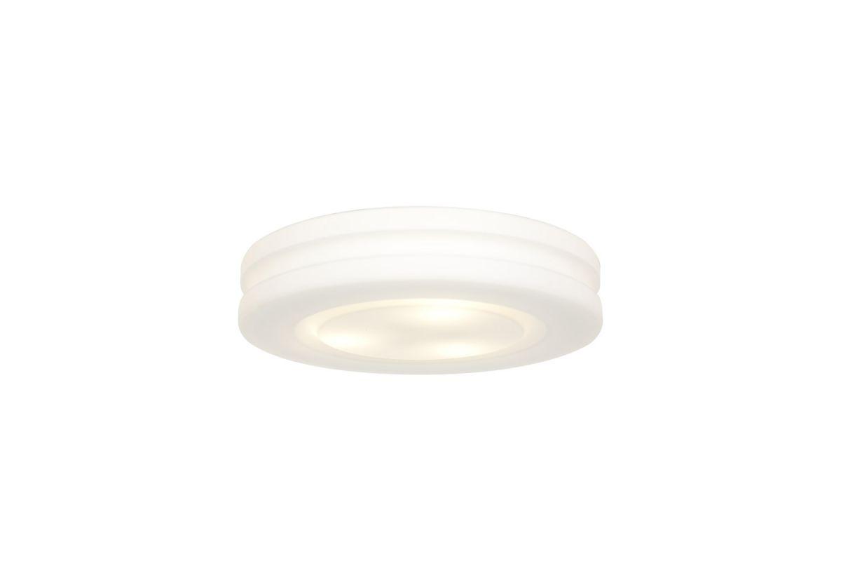 Access Lighting 50186 Altum 1 Light Flush Mount Ceiling Fixture White