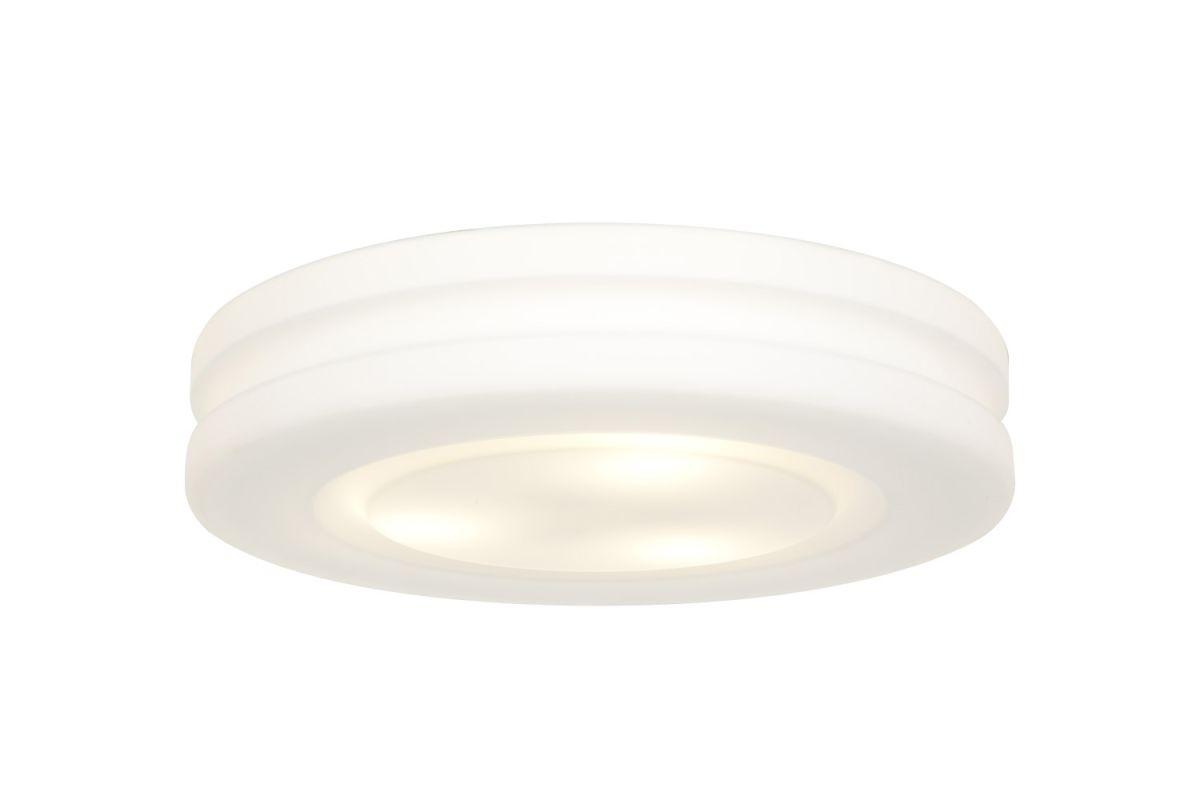 Access Lighting 50188 Altum 3 Light Flush Mount Ceiling Fixture White