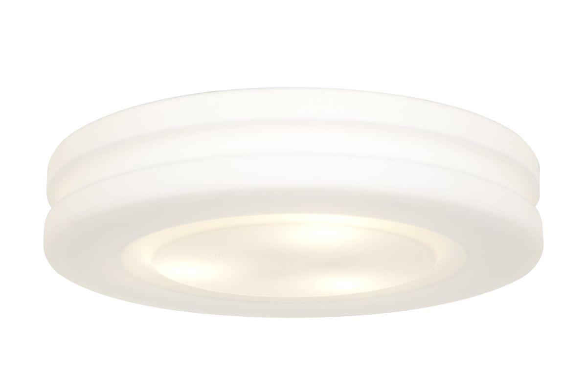 Access Lighting 50189 Altum 3 Light Flush Mount Ceiling Fixture White