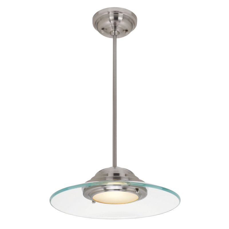 Access Lighting 50441LED Phoebe 1 Light Full Sized LED Pendant Brushed