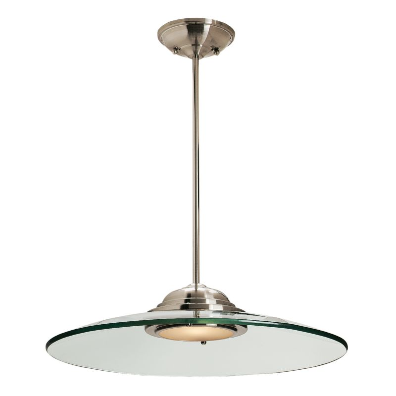 Access Lighting 50444LED Phoebe 1 Light Full Sized LED Pendant Brushed