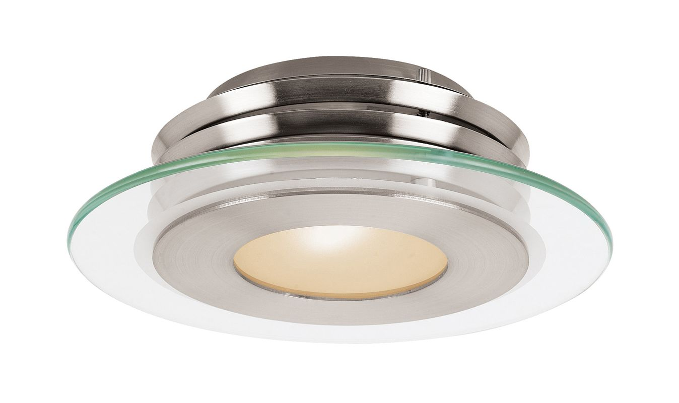 Access Lighting 50480 Helius 1 Light Flush Mount Ceiling Fixture Sale $147.20 ITEM: bci2255782 ID#:50480-BS/CFR UPC: 641594103663 :