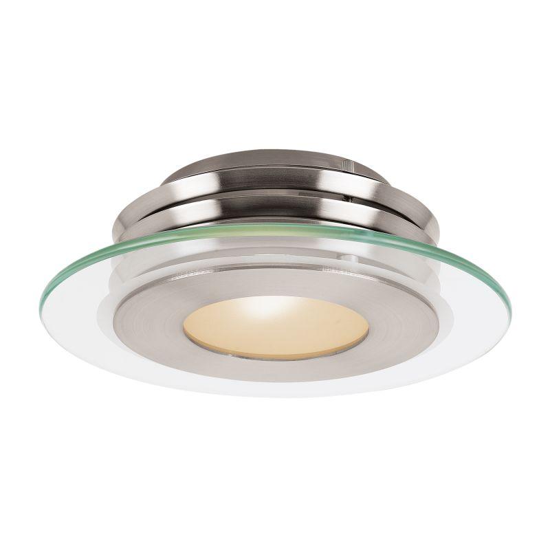 Access Lighting 50480-LED Helius1 Light LED Flush Mount Ceiling