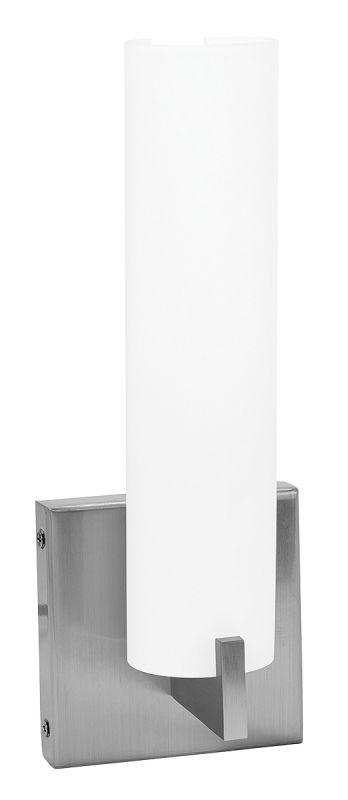 Access Lighting 50565 Oracle 1 Light Bathroom Sconce Brushed Steel /