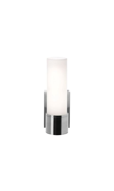 Access Lighting 50566 Aqueous 1 Light Wall Sconce Brushed Steel / Opal