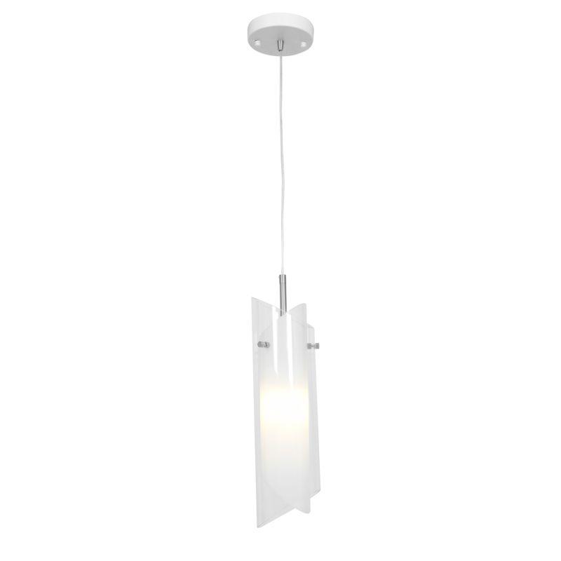 Access Lighting 52062 Gyro 1 Light Full Sized Pendant Brushed Steel /