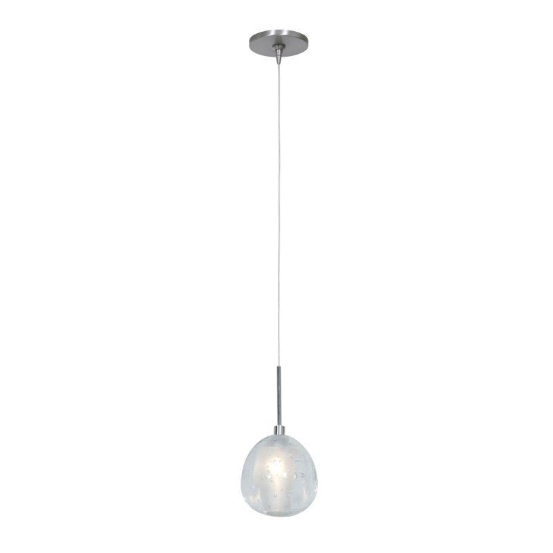 Access Lighting 52075UJ-1 Raindrop 1 Light Mini Pendant Brushed Steel Sale $128.00 ITEM: bci2558962 ID#:52075UJ-1-BS/CCL UPC: 641594189322 :