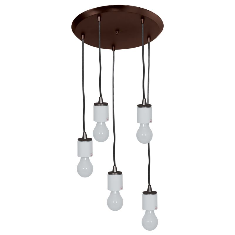 Access Lighting 52232 Circ 5 Light Round Pendant Oil Rubbed Bronze Sale $142.40 ITEM: bci2558817 ID#:52232FC-ORB UPC: 641594183245 :