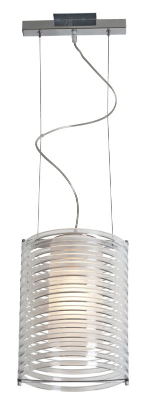 Access Lighting 55525-CH/ACLR Chrome Contemporary Enzo Pendant