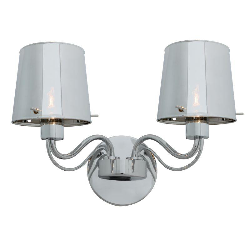 Access Lighting 55531 Milano 2 Light Wall Sconce Chrome / Chrome