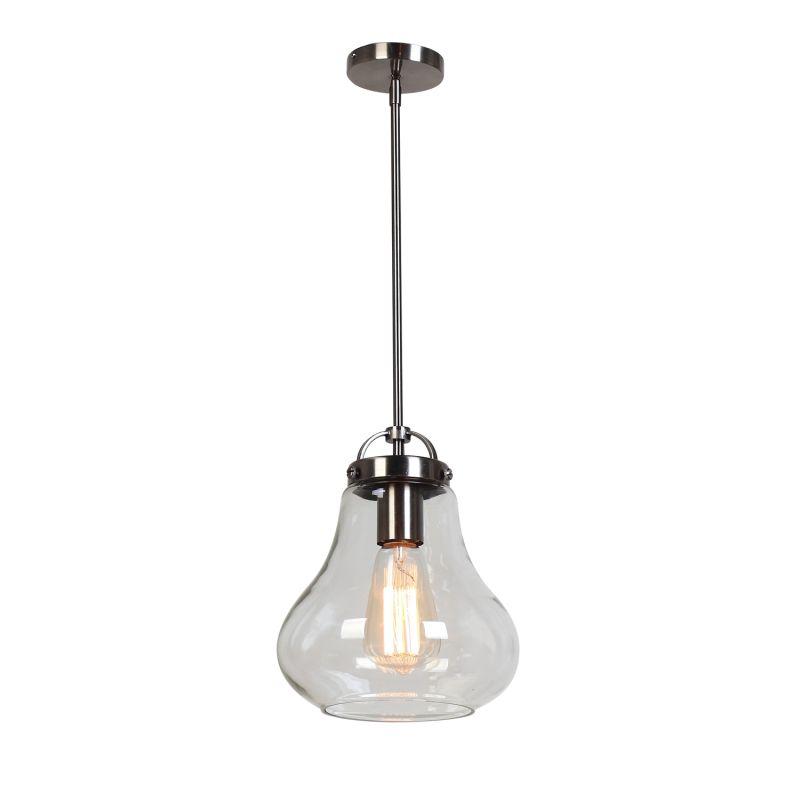 Access Lighting 55545-ANCK/CLR Nickel Contemporary Flux Pendant