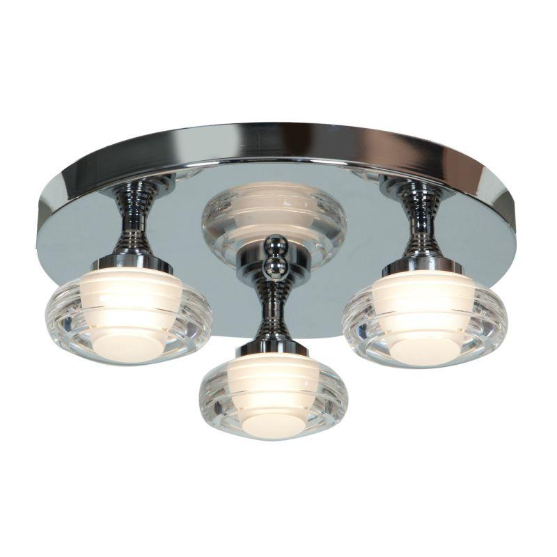 """Access Lighting 63978LED 3 Light 14"""" Wide LED Flush Mount Ceiling"""