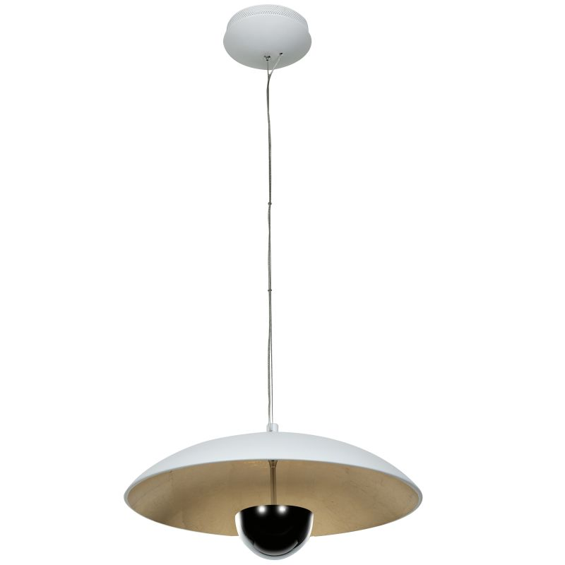 Access Lighting 70073LED Pulsar 1 Light Bowl Shaped LED Pendant White Sale $360.00 ITEM: bci2558950 ID#:70073LEDD-WH/GLD UPC: 641594192049 :