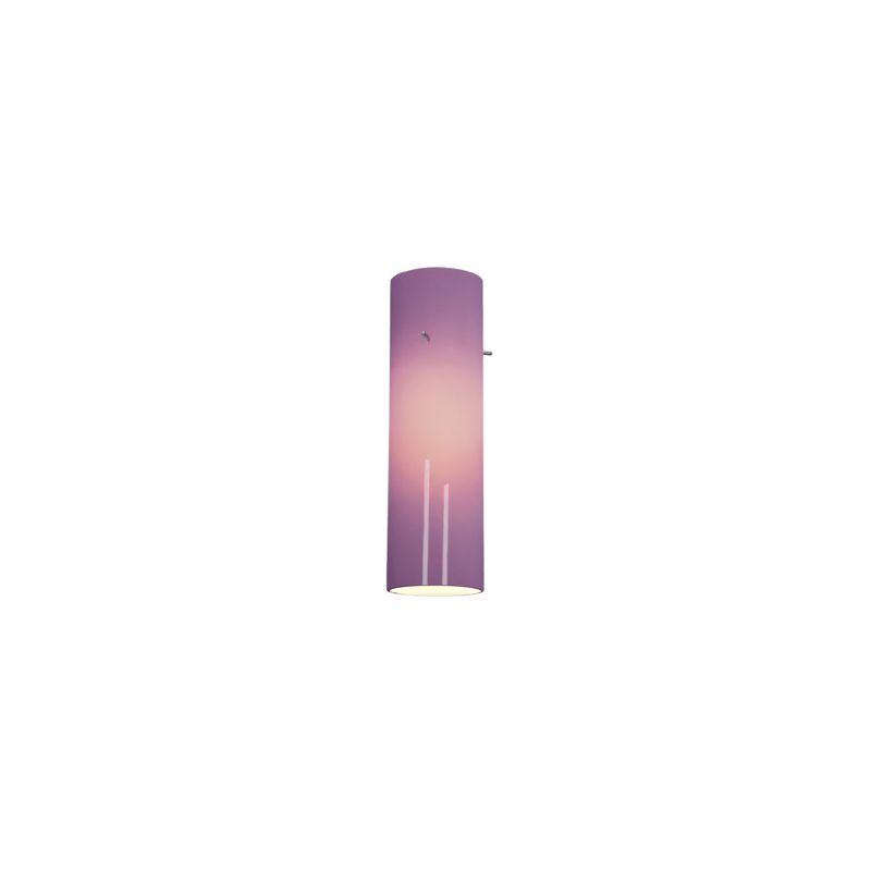 Access Lighting 932V Anari Silk Glass Cylinder Plum Accessory
