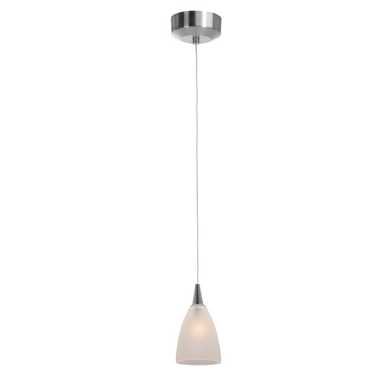 """Access Lighting 94019LED 4"""" Wide 1 Light LED Track Pendant with Cone Sale $168.00 ITEM: bci2793215 ID#:94019LED-BS/FST UPC: 641594189636 :"""