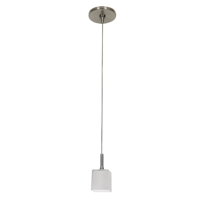 Access Lighting 96918-BS/OPL Brushed Steel Contemporary Omega Pendant