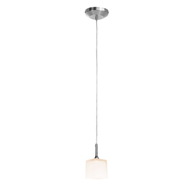 Access Lighting 97918-BS/OPL Brushed Steel Contemporary Delta Pendant