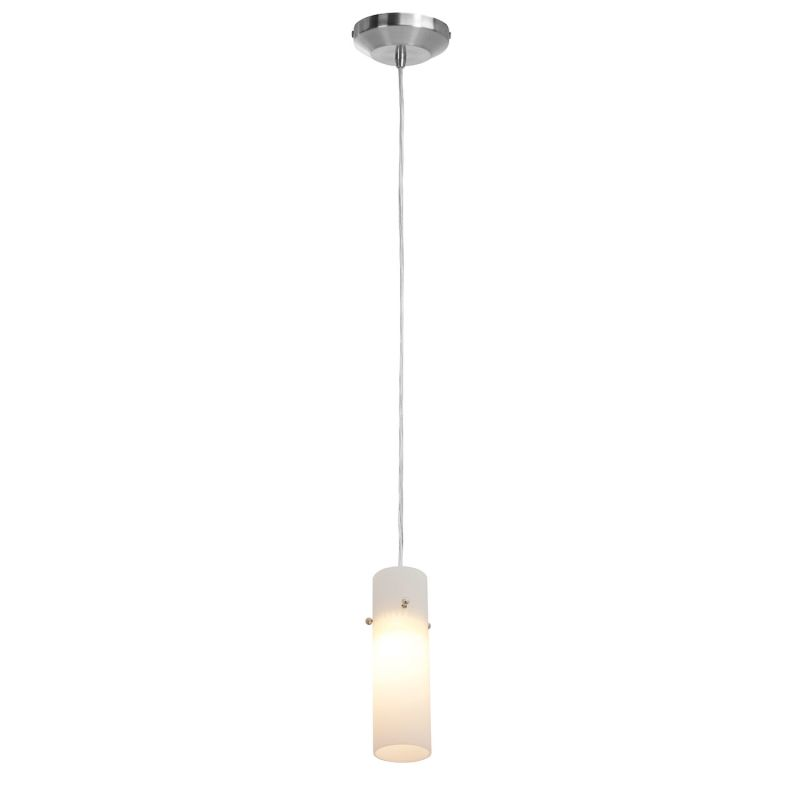 Access Lighting 97932-BS/OPL Brushed Steel Contemporary Delta Pendant