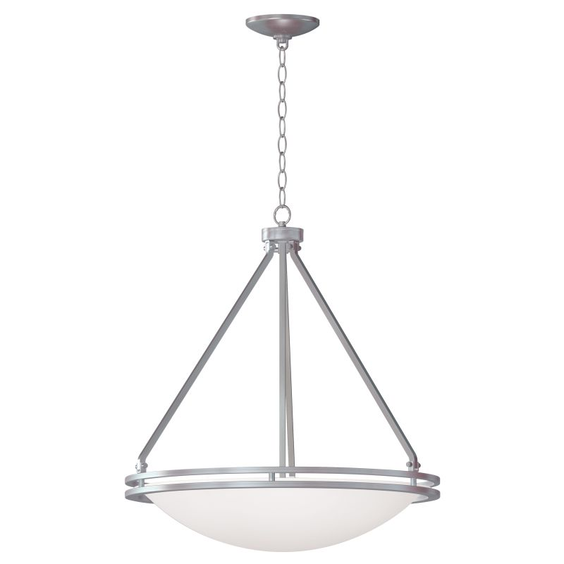 Access Lighting C20462-CFL Aztec 1 Light Bowl Shaped Pendant Brushed Sale $262.40 ITEM: bci2558760 ID#:C20462BSWHTEN1158C UPC: 641594180046 :